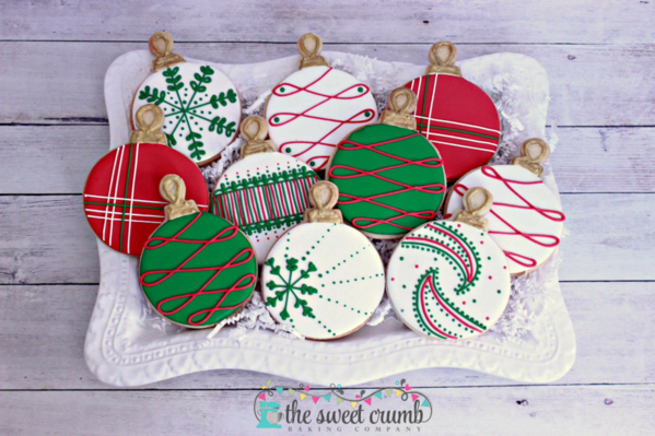 #3 - The Sweet Crumb Christmas Ornaments by Frosted Flour Co.