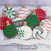 #3 - The Sweet Crumb Christmas Ornaments: By Frosted Flour Co.