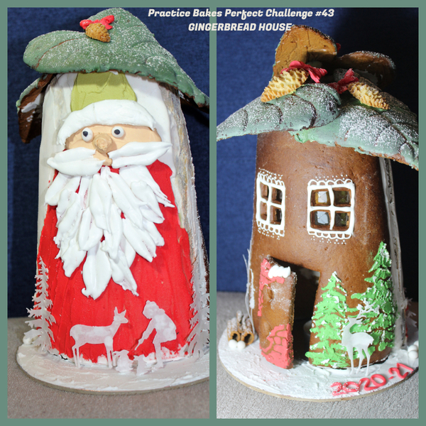 #4 - Tile Gingerbread House by Petra Florean