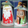 #4 - Tile Gingerbread House: By Petra Florean
