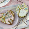 Julia's December 2020 Stencil Release - Sweethearts!: Cookies and Photo by Julia M Usher; Stencils Designed by Julia M Usher with Confection Couture Stencils