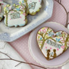 Assorted Cookies Using Both Sets: Cookies and Photo by Julia M Usher; Stencils Designed by Julia M Usher with Confection Couture Stencils