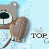 Top 10 Cookies Banner, December 12, 2020: Cookies and Photo by Ewa Kiszowara MOJE PIERNIKI; Graphic Design by Julia M Usher