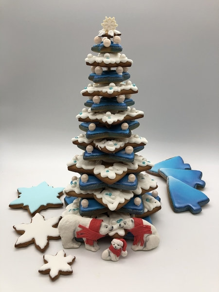 #9 - Cookie Christmas Tree by Yulia Bunnell