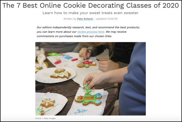 Best Online Cookie Classes BORDER