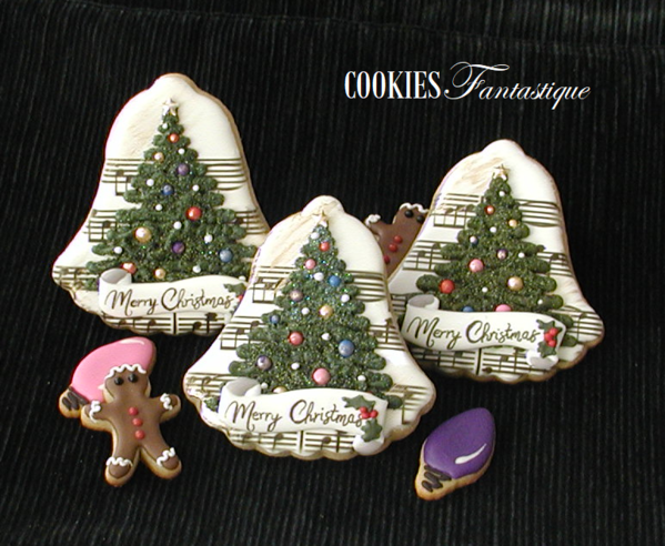 #2 - Musical Christmas Trees by Cookies Fantastique