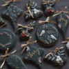 #3 - Christmas Ornaments: By mintlemonade (cookie crumbs)