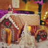 #5 - Moroccan-Style Gingerbread House - View #1: By Blyssful Cookies