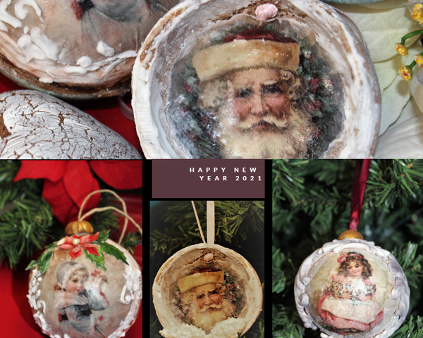 #9 - Holiday Ornaments by Petra Florean