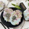 Lanterns Made Two Ways!: Cookies and Photo by Julia M Usher; Stencils Designed by Julia M Usher with Confection Couture Stencils