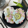 Closer Look at Fondant Appliqués: Cookies and Photo by Julia M Usher; Stencils Designed by Julia M Usher with Confection Couture Stencils