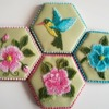 More Nature-Themed Embroidery: Cookies and Photo by Ewa Kiszowara