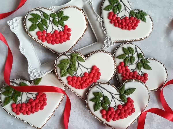 Hearts with Rowanberry