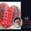 Cookier Close-up Banner for Ewa Kiszowara: Cookie and Photos by Ewa Kiszowara; Graphic Design by Julia M Usher