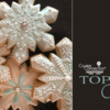 Top 10 Cookies Banner - January 30, 2021: Cookies and Photo by Wendy Cubic; Graphic Design by Julia M Usher