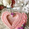 #2 - Lace Heart: By Tina at Sugar Wishes