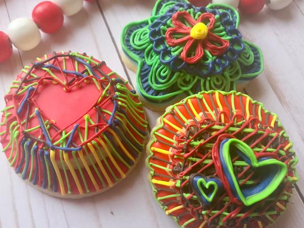 #8 - Colorful Stringwork by Megan Britt