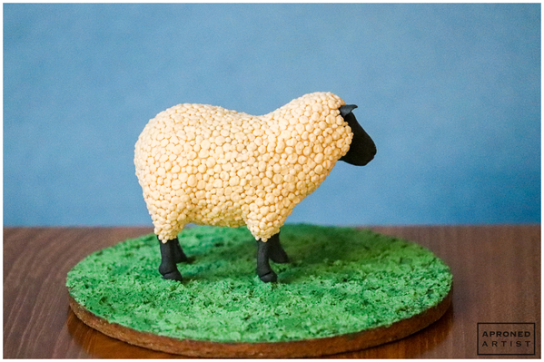 Final Sheep Cookie