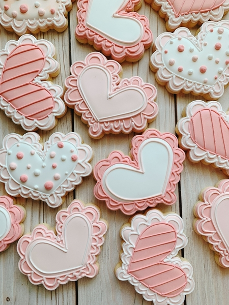 #3 - Hearts by Cookies on Cambridge