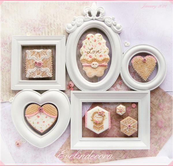 #1 - Romantic Cookies by Evelindecora