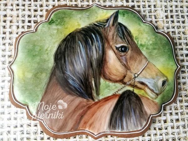 #5 - Horse Portrait by Ewa Kiszowara MOJE PIERNIKI