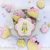 #1 - Bee Mine Cookies: By Evelindecora