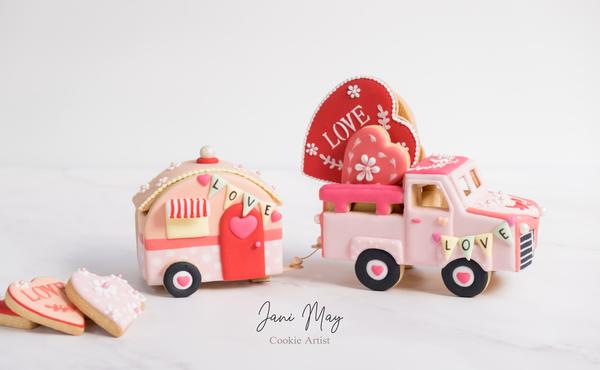 #3 - Caravan of Love - View #1 by Jani May Cookie Artist