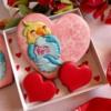 #5 - Lovebirds on Heart: By Bożena Aleksandrow