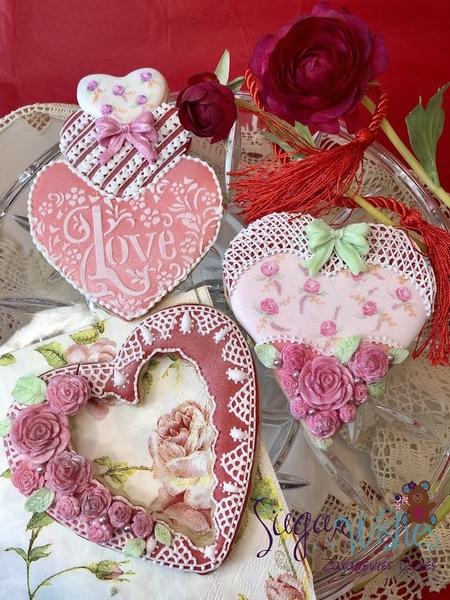 #7 - Hearts and Roses by Tina at Sugar Wishes