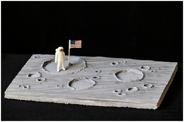 Final Moon Landing Cookie
