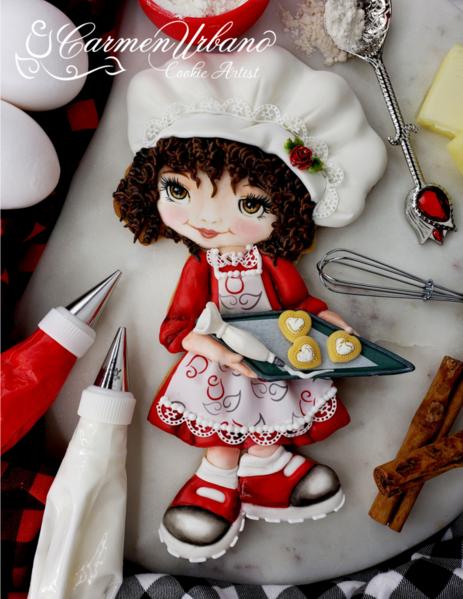 #3 - Sweet Little Baker by Inspirations by Carmen Urbano