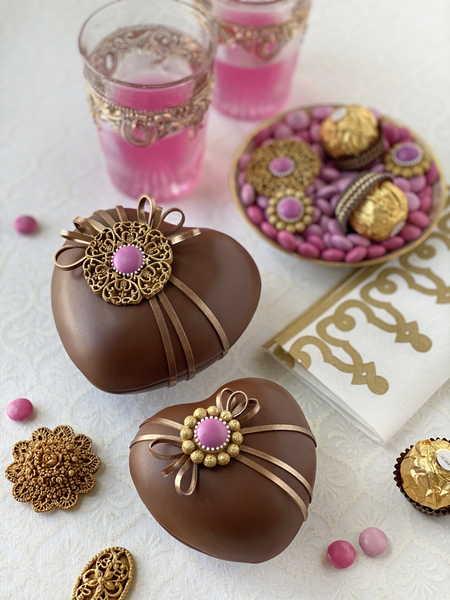 #5 - 3-D Heart Box Cookies by Julia M. Usher