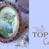 Top 10 Cookies Banner - February 20, 2021: Cookie and Photo by My Lovely Cookie; Graphic Design by Julia M Usher