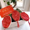 Chinese Lanterns: Cookies and Photo by Gwen Safriet