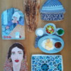 Iran Set: Cookies and Photo by Elke Hoelzle