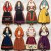 Sardinian Traditional Dress: Cookies and Photo by Magadiuz