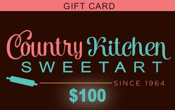Country Kitchen SweetArt $100 Gift Certificate