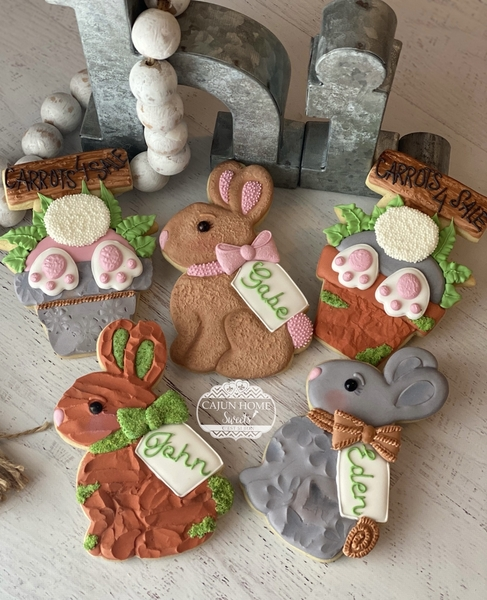 #2 - Rustic Easter by Cajun Home Sweets