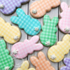 #9 - Gingham Bunnies: By Cookies on Cambridge