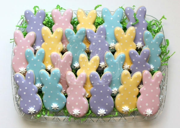 #2 - Polka Dot Bunnies by Cookies on Cambridge