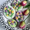 #3 - Easter Eggs with Tulips and Daffodils: By Bożena Aleksandrow