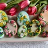#6 - Floral Easter Eggs: By Bożena Aleksandrow