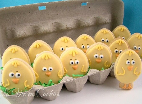 #8 - Chicks for Easter by La Vie en Cookies
