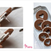 Steps 2d to 2f - Continue Piping Basketweave on Cookie Sides: Cookies and Photos by Manu