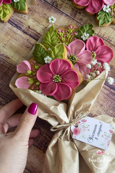 #1 - Cookie Bouquet by Vanilla & Me