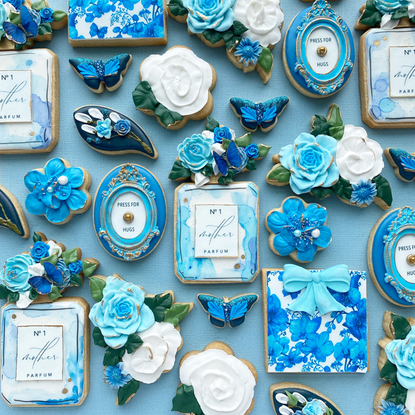 #3 - Blue Floral Mother's Day by TammyHolmes
