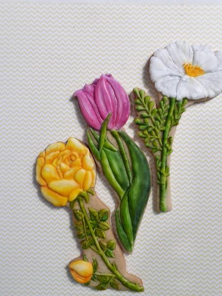 #5 - Flowers for Mom Cookies by Elke Hoelzle