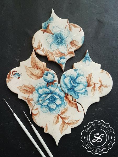 #7 -Mosaic Cookie Tiles by Laura Saporiti