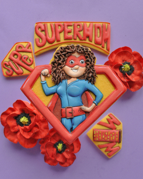 #8 - Super Mother's Day Cookie by Goloven Olga