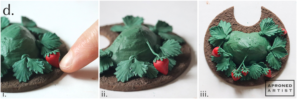 Step 3d - Attach Strawberries